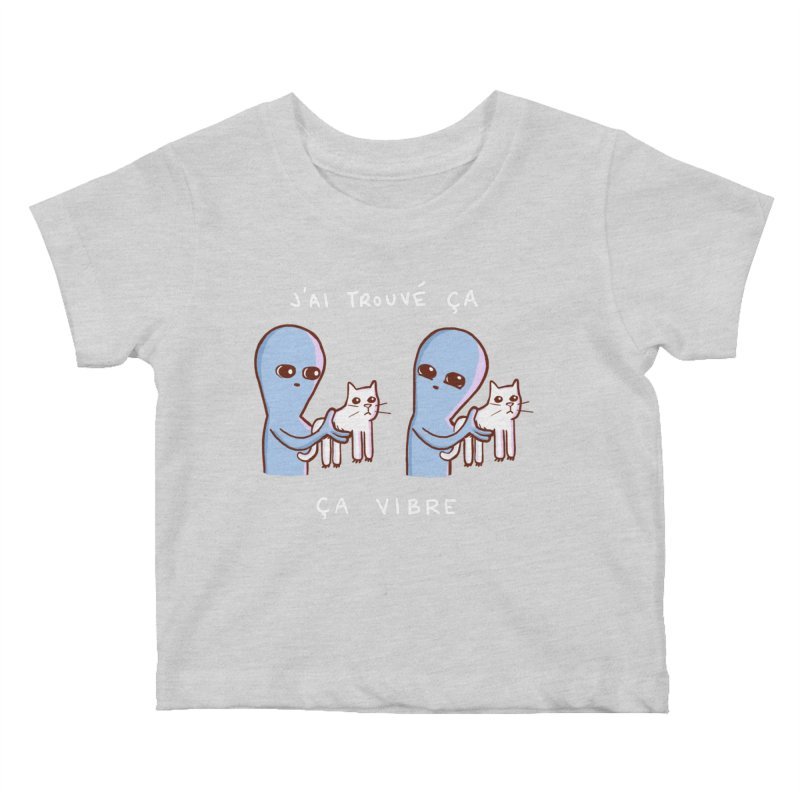 STRANGE PLANET SPECIAL PRODUCT: VIBRATING IN FRENCH Kids Baby T-Shirt by Nathan W Pyle