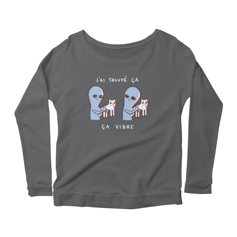 STRANGE PLANET SPECIAL PRODUCT: VIBRATING IN FRENCH Women's Longsleeve T-Shirt by Nathan W Pyle