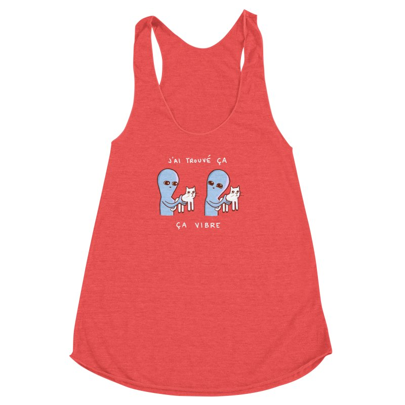 STRANGE PLANET SPECIAL PRODUCT: VIBRATING IN FRENCH Women's Tank by Nathan W Pyle
