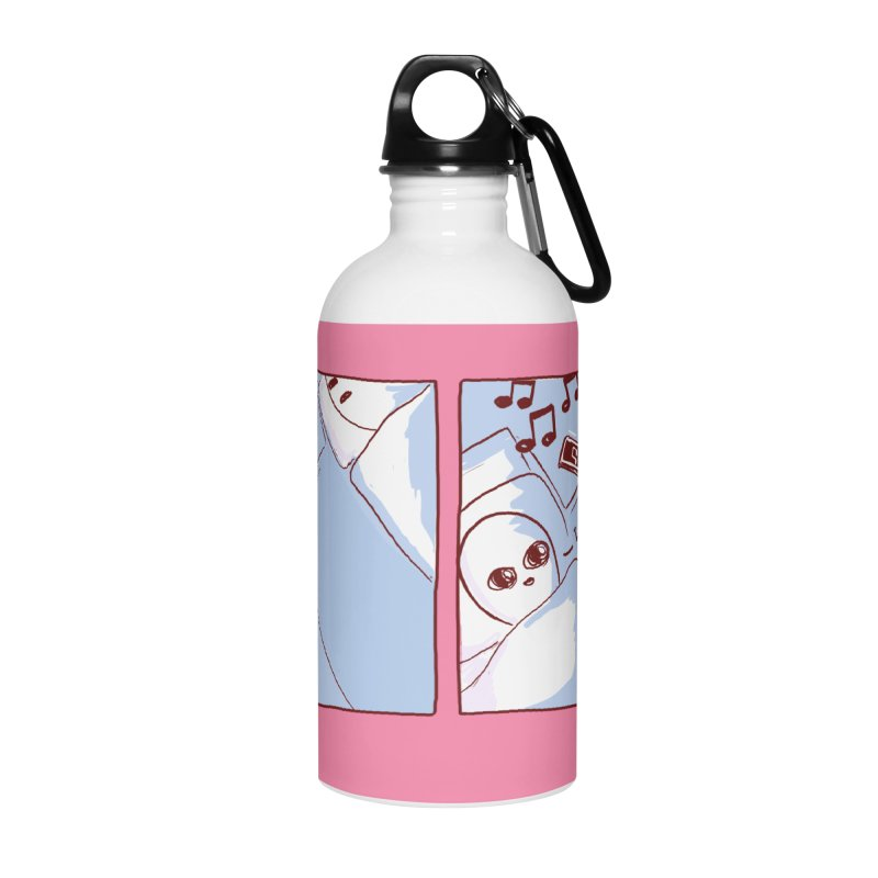 STRANGE PLANET SPECIAL PRODUCT: MELODY MACHINE Accessories Water Bottle by Nathan W Pyle