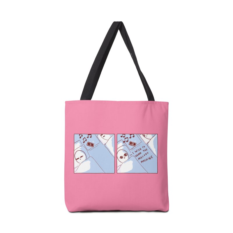 STRANGE PLANET SPECIAL PRODUCT: MELODY MACHINE Accessories Tote Bag Bag by Nathan W Pyle