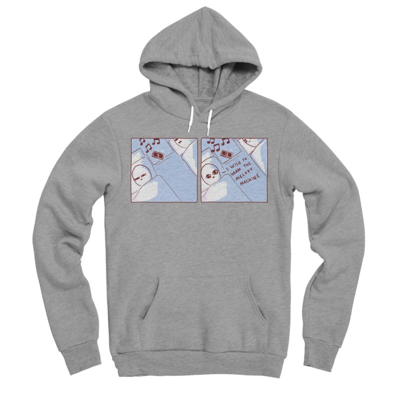 STRANGE PLANET SPECIAL PRODUCT: MELODY MACHINE Women's Sponge Fleece Pullover Hoody by Nathan W Pyle