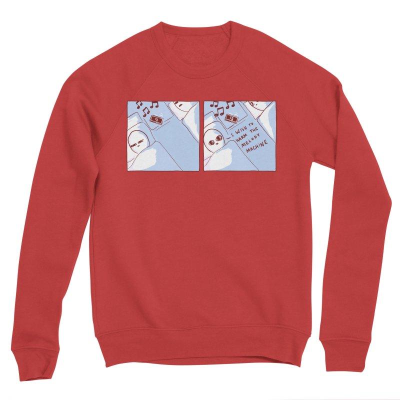 STRANGE PLANET SPECIAL PRODUCT: MELODY MACHINE Women's Sponge Fleece Sweatshirt by Nathan W Pyle