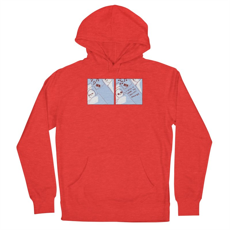 STRANGE PLANET SPECIAL PRODUCT: MELODY MACHINE Men's Pullover Hoody by Nathan W Pyle