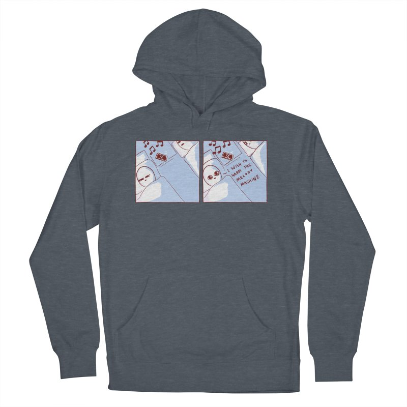 STRANGE PLANET SPECIAL PRODUCT: MELODY MACHINE Women's French Terry Pullover Hoody by Nathan W Pyle