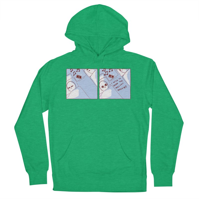 STRANGE PLANET SPECIAL PRODUCT: MELODY MACHINE Men's French Terry Pullover Hoody by Nathan W Pyle