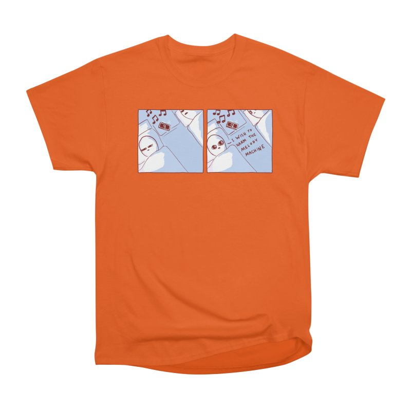 STRANGE PLANET SPECIAL PRODUCT: MELODY MACHINE Men's T-Shirt by Nathan W Pyle