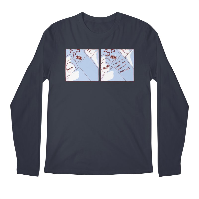 STRANGE PLANET SPECIAL PRODUCT: MELODY MACHINE Men's Longsleeve T-Shirt by Nathan W Pyle