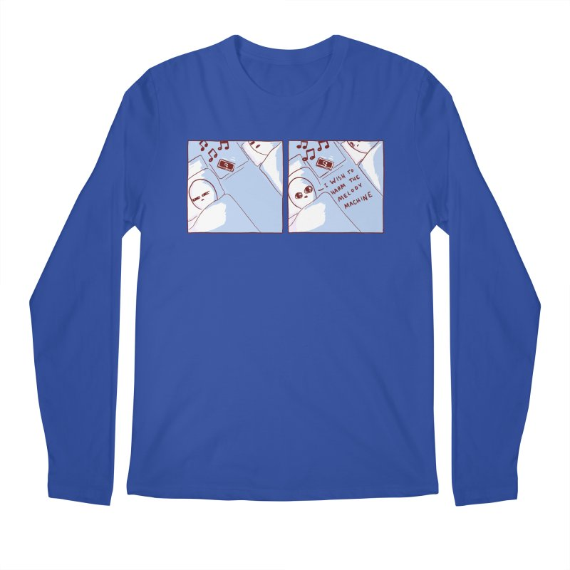STRANGE PLANET SPECIAL PRODUCT: MELODY MACHINE Men's Longsleeve T-Shirt by Nathan W Pyle Shop | Strange Planet Store | Thread