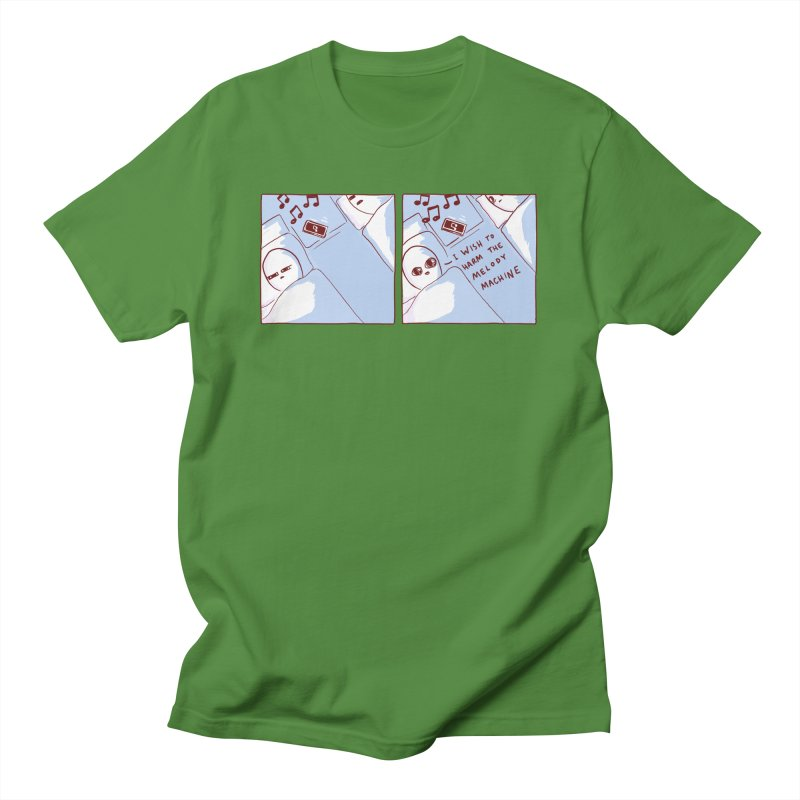 STRANGE PLANET SPECIAL PRODUCT: MELODY MACHINE Men's T-Shirt by Nathan W Pyle Shop   Strange Planet Store   Thread