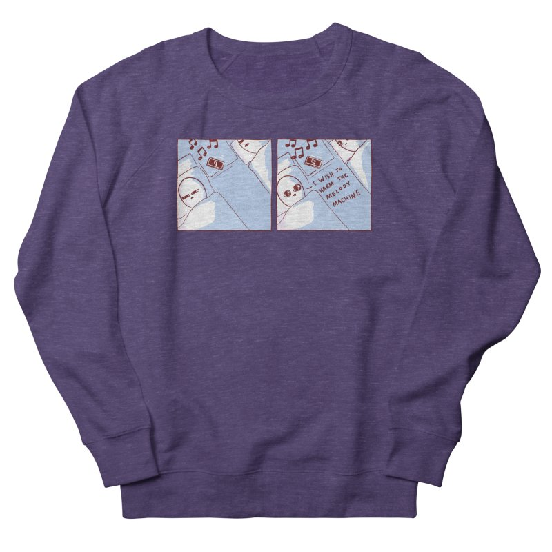 STRANGE PLANET SPECIAL PRODUCT: MELODY MACHINE Women's French Terry Sweatshirt by Nathan W Pyle