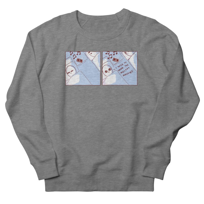 STRANGE PLANET SPECIAL PRODUCT: MELODY MACHINE Women's Sweatshirt by Nathan W Pyle