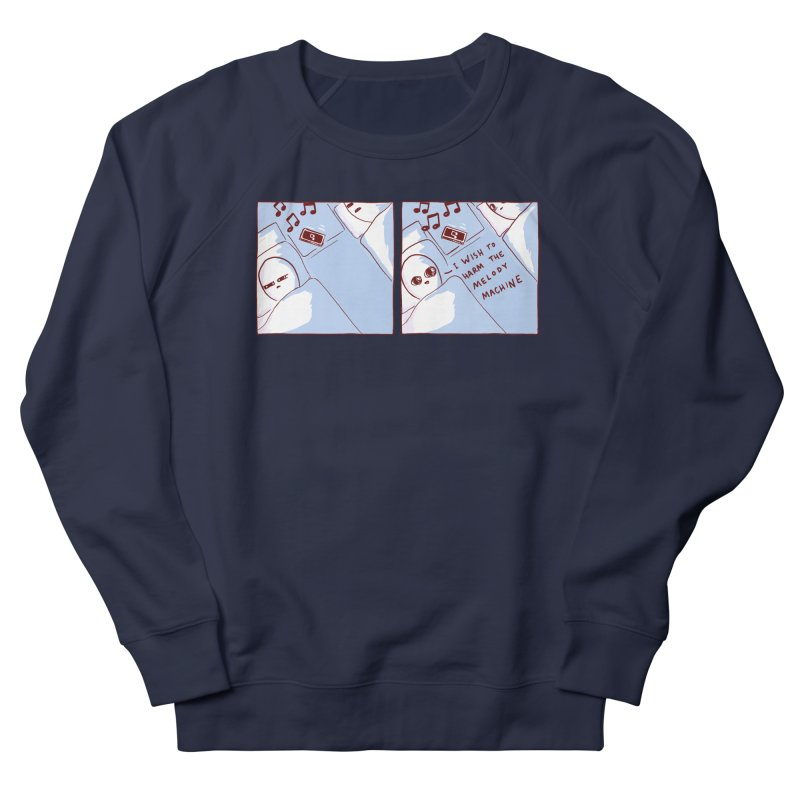 STRANGE PLANET SPECIAL PRODUCT: MELODY MACHINE Men's Sweatshirt by Nathan W Pyle