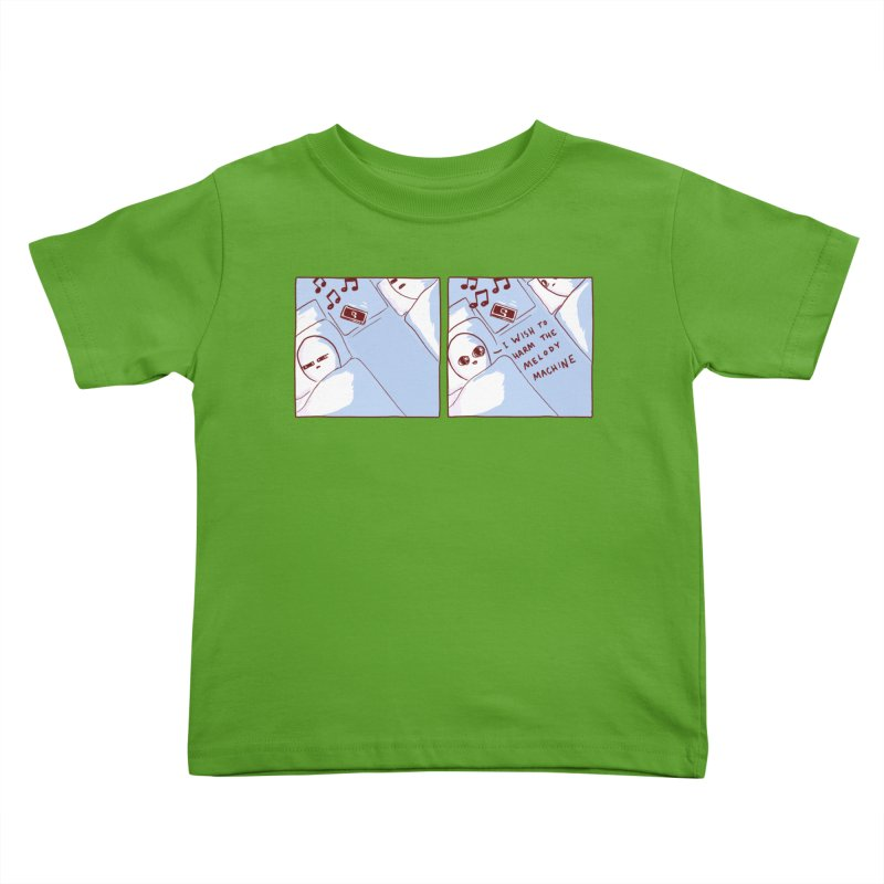 STRANGE PLANET SPECIAL PRODUCT: MELODY MACHINE Kids Toddler T-Shirt by Nathan W Pyle