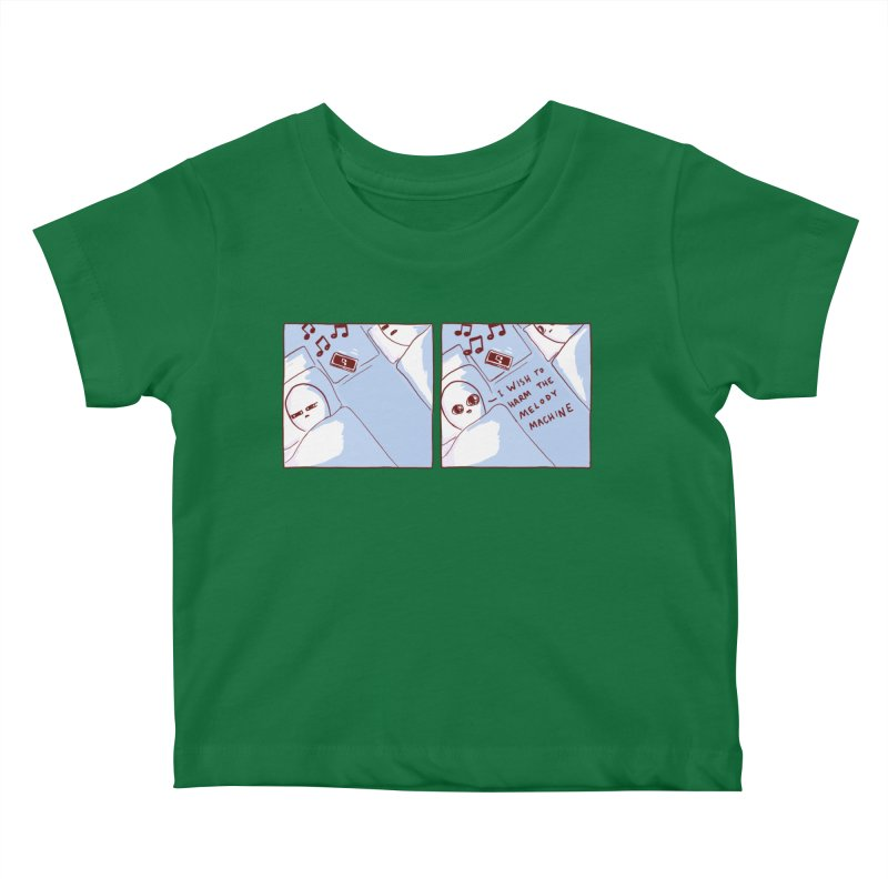 STRANGE PLANET SPECIAL PRODUCT: MELODY MACHINE Kids Baby T-Shirt by Nathan W Pyle