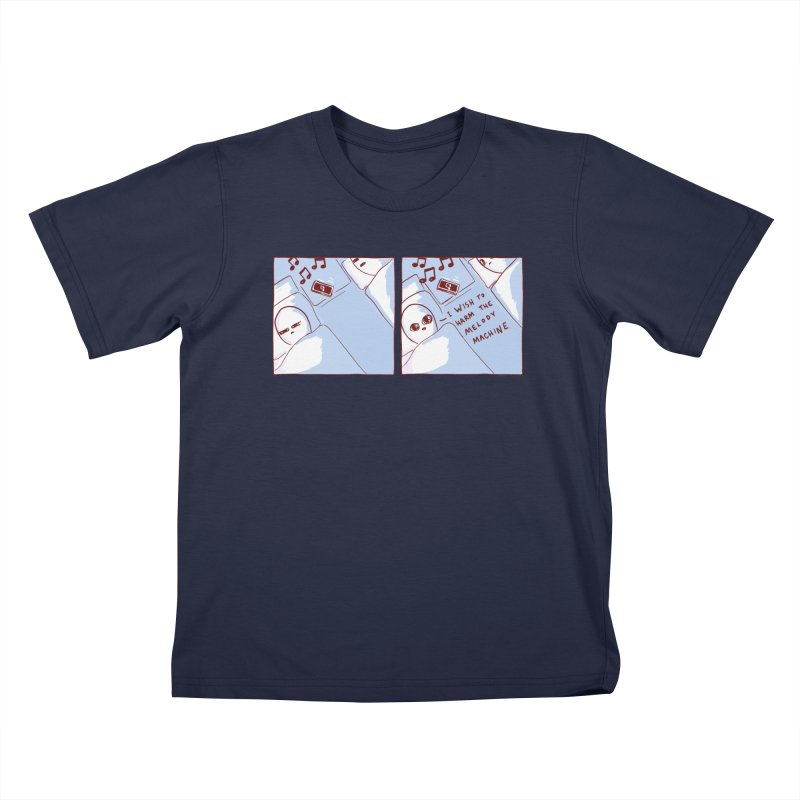 STRANGE PLANET SPECIAL PRODUCT: MELODY MACHINE Kids T-Shirt by Nathan W Pyle
