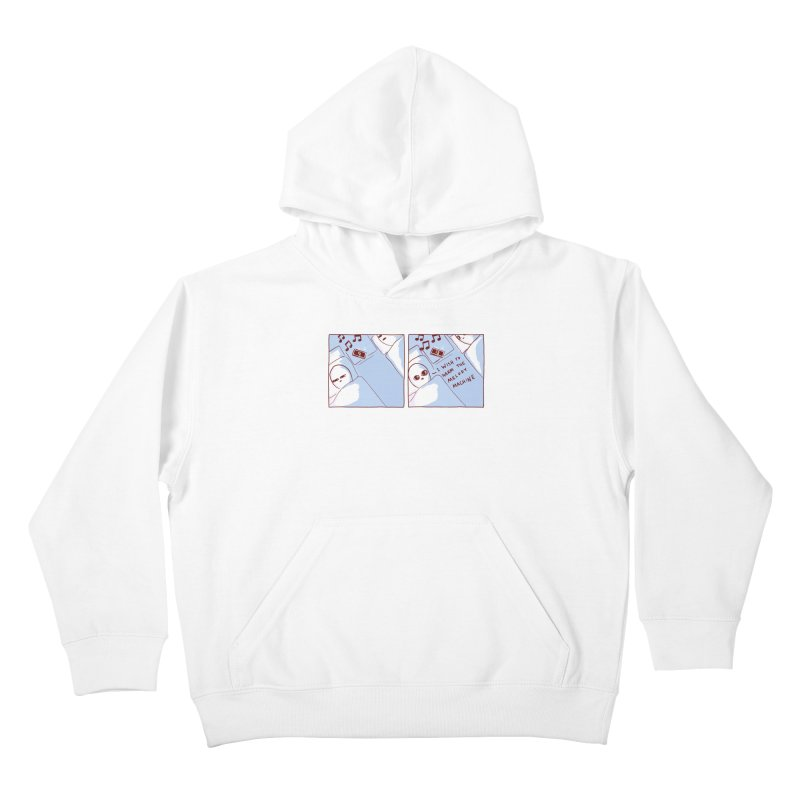 STRANGE PLANET SPECIAL PRODUCT: MELODY MACHINE Kids Pullover Hoody by Nathan W Pyle