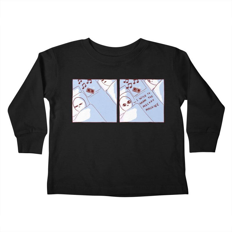 STRANGE PLANET SPECIAL PRODUCT: MELODY MACHINE Kids Toddler Longsleeve T-Shirt by Nathan W Pyle