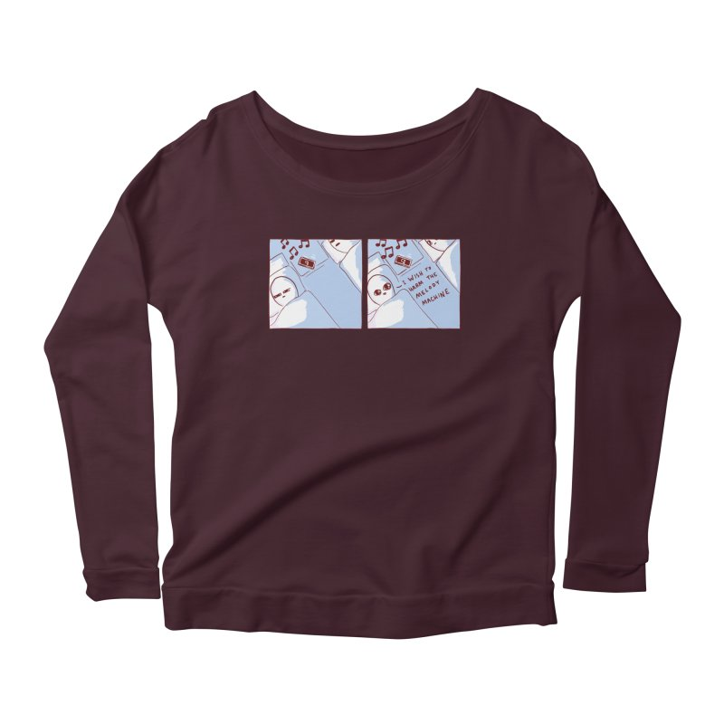STRANGE PLANET SPECIAL PRODUCT: MELODY MACHINE Women's Longsleeve T-Shirt by Nathan W Pyle
