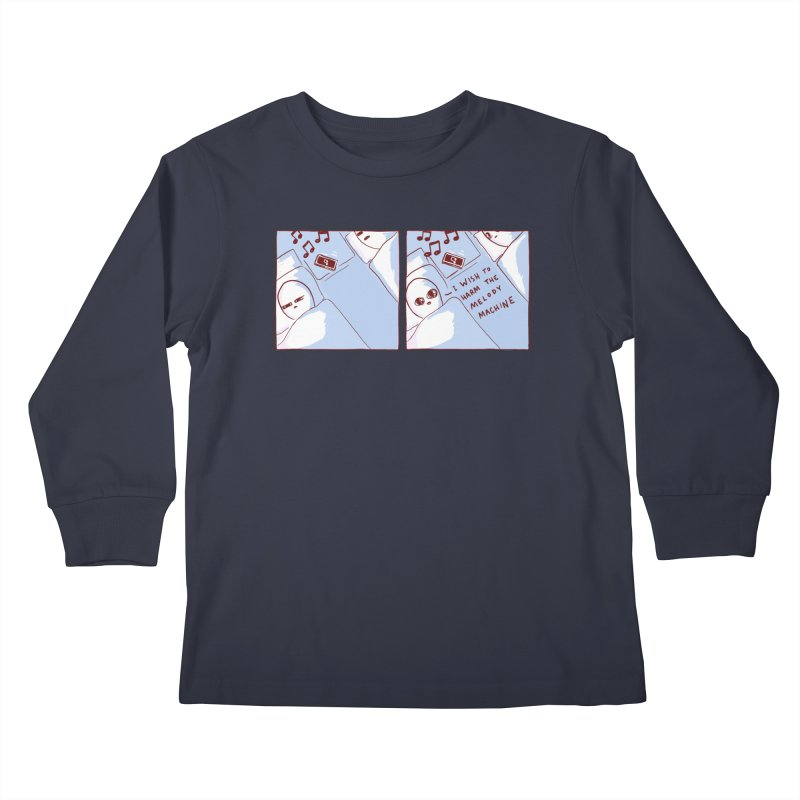 STRANGE PLANET SPECIAL PRODUCT: MELODY MACHINE Kids Longsleeve T-Shirt by Nathan W Pyle