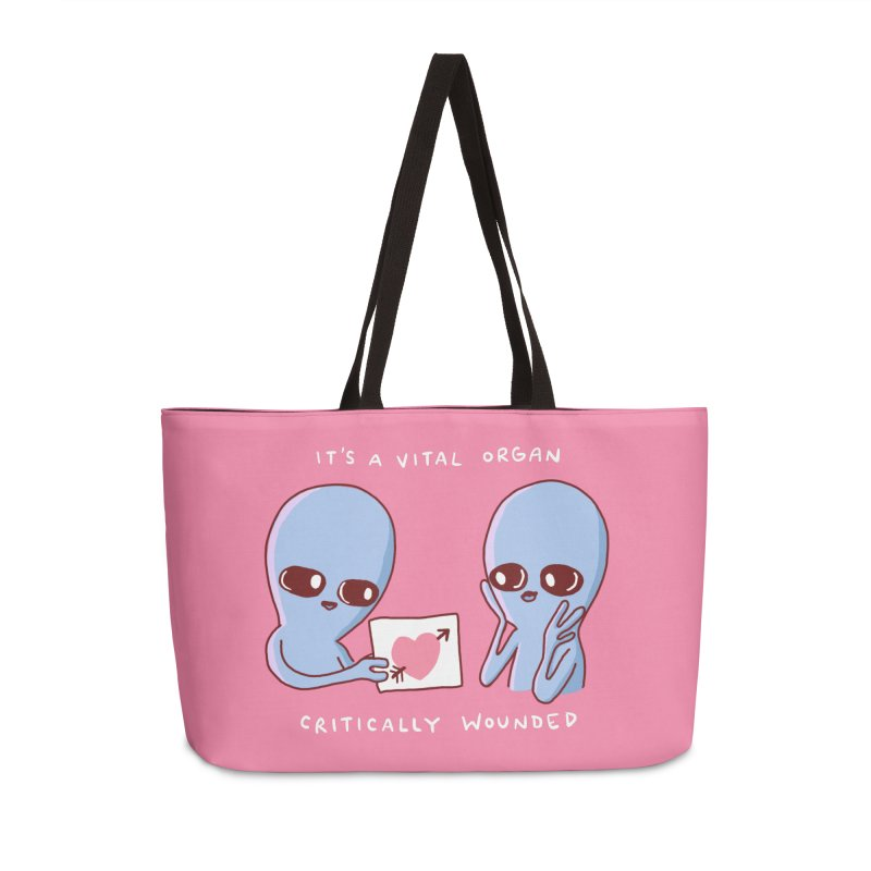 STRANGE PLANET SPECIAL PRODUCT: VITAL ORGAN Accessories Weekender Bag Bag by Nathan W Pyle