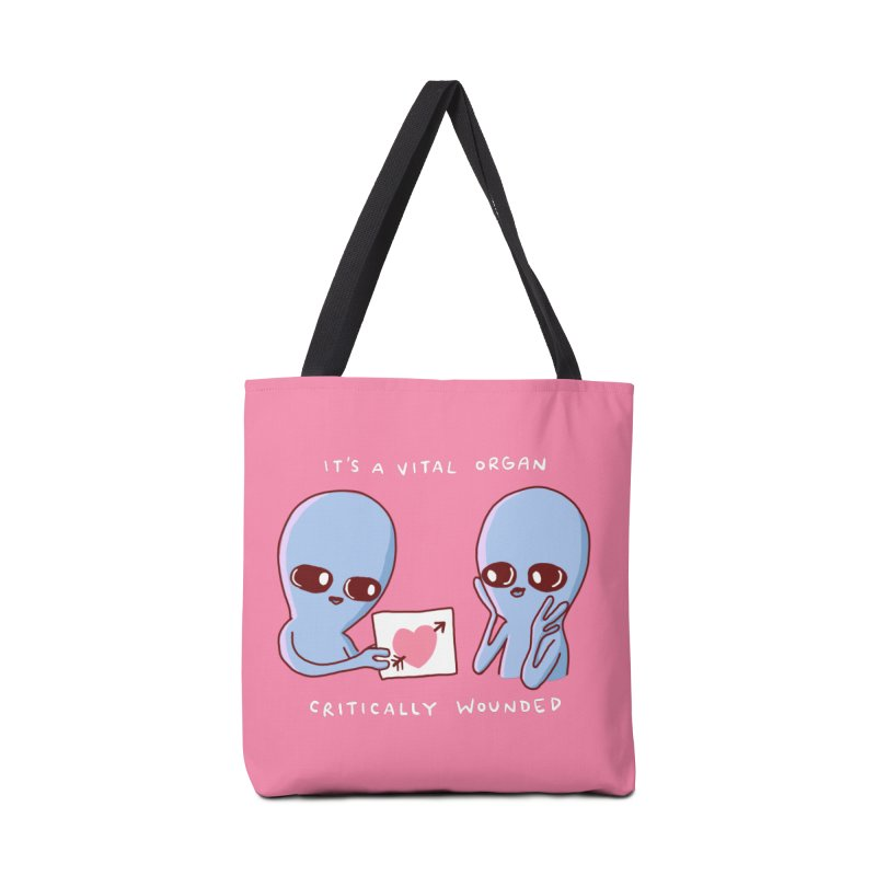 STRANGE PLANET SPECIAL PRODUCT: VITAL ORGAN Accessories Tote Bag Bag by Nathan W Pyle