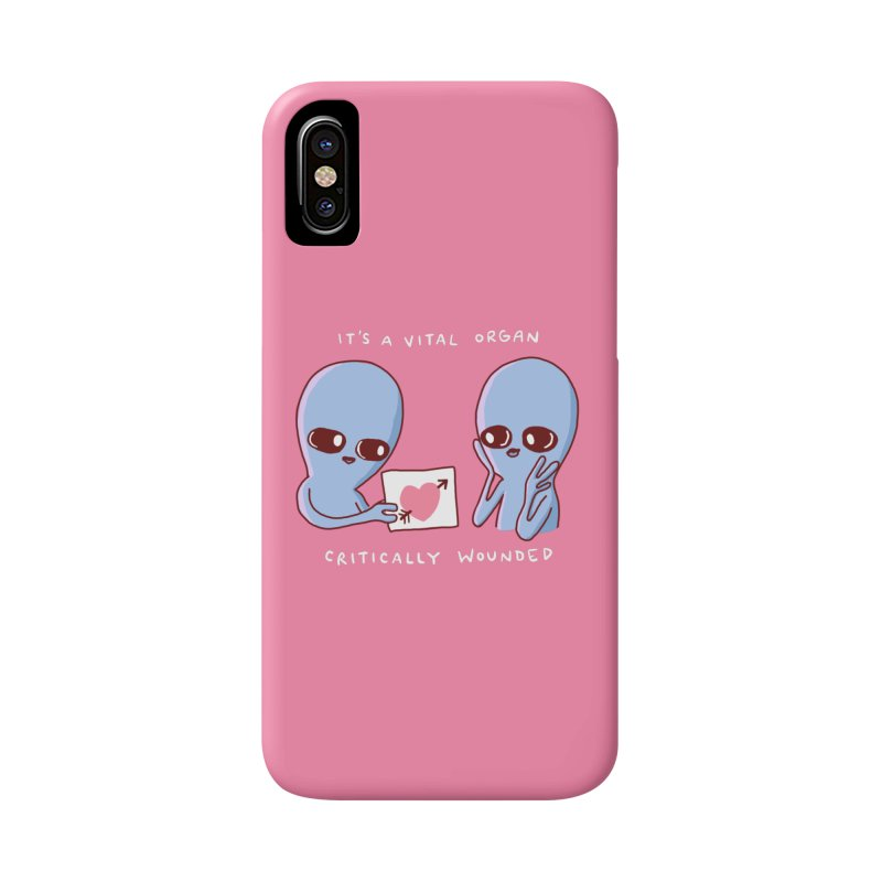 STRANGE PLANET SPECIAL PRODUCT: VITAL ORGAN Accessories Phone Case by Nathan W Pyle