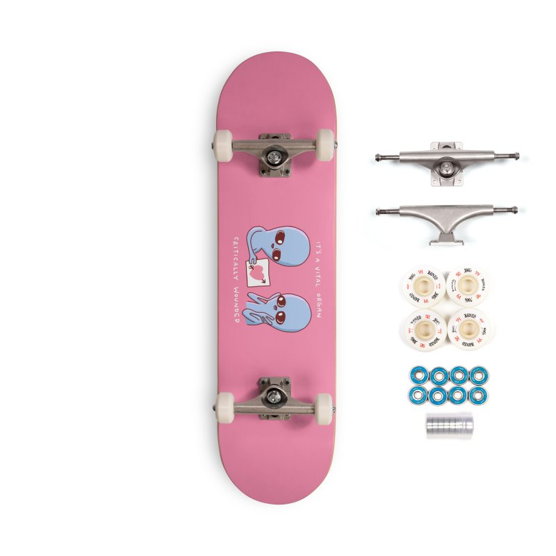 STRANGE PLANET SPECIAL PRODUCT: VITAL ORGAN Accessories Skateboard by Nathan W Pyle