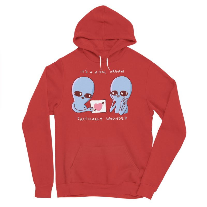 STRANGE PLANET SPECIAL PRODUCT: VITAL ORGAN Men's Pullover Hoody by Nathan W Pyle