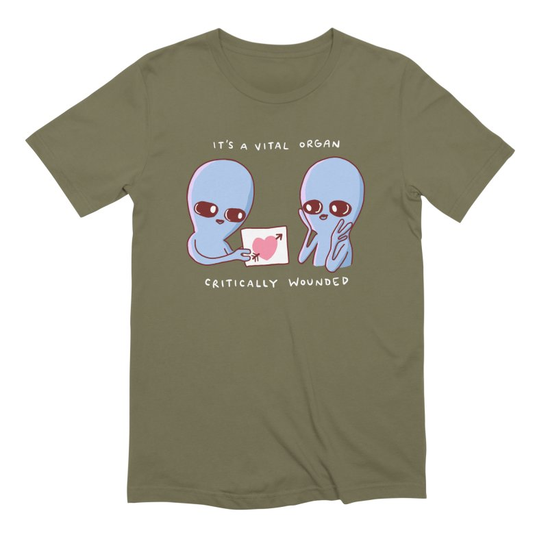 STRANGE PLANET SPECIAL PRODUCT: VITAL ORGAN Men's T-Shirt by Nathan W Pyle