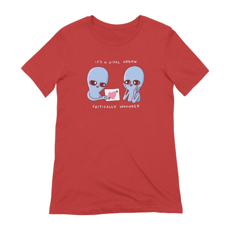 STRANGE PLANET SPECIAL PRODUCT: VITAL ORGAN Women's Extra Soft T-Shirt by Nathan W Pyle