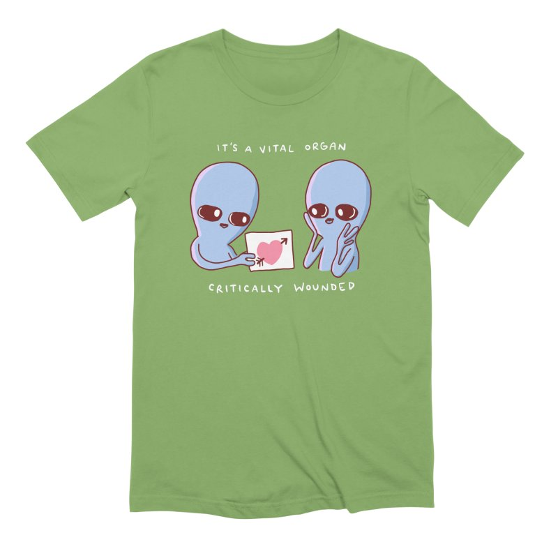 STRANGE PLANET SPECIAL PRODUCT: VITAL ORGAN Men's Extra Soft T-Shirt by Nathan W Pyle