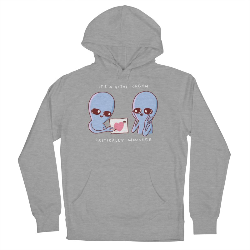 STRANGE PLANET SPECIAL PRODUCT: VITAL ORGAN Women's Pullover Hoody by Nathan W Pyle