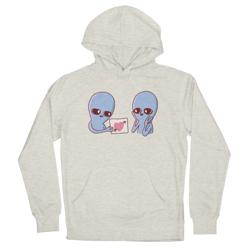 STRANGE PLANET SPECIAL PRODUCT: VITAL ORGAN Men's French Terry Pullover Hoody by Nathan W Pyle
