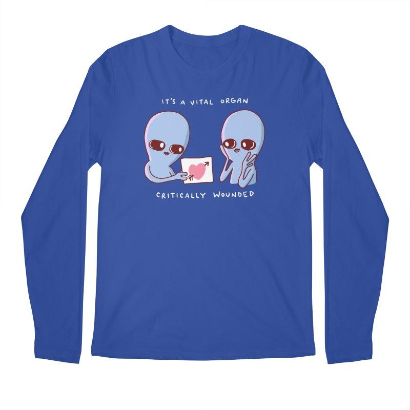STRANGE PLANET SPECIAL PRODUCT: VITAL ORGAN Men's Regular Longsleeve T-Shirt by Nathan W Pyle