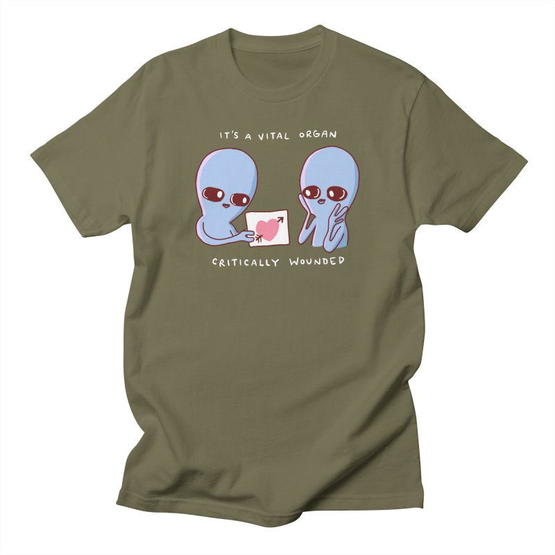 STRANGE PLANET SPECIAL PRODUCT: VITAL ORGAN Women's Regular Unisex T-Shirt by Nathan W Pyle