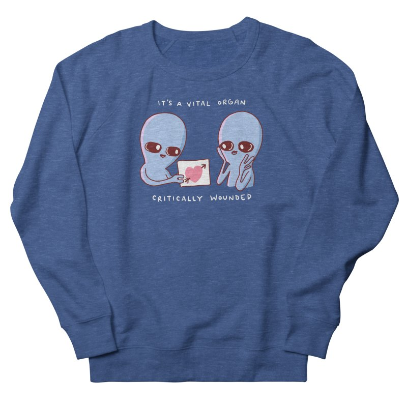 STRANGE PLANET SPECIAL PRODUCT: VITAL ORGAN Women's Sweatshirt by Nathan W Pyle