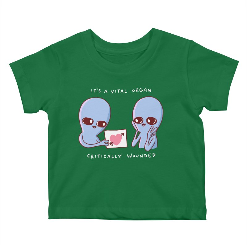 STRANGE PLANET SPECIAL PRODUCT: VITAL ORGAN Kids Baby T-Shirt by Nathan W Pyle