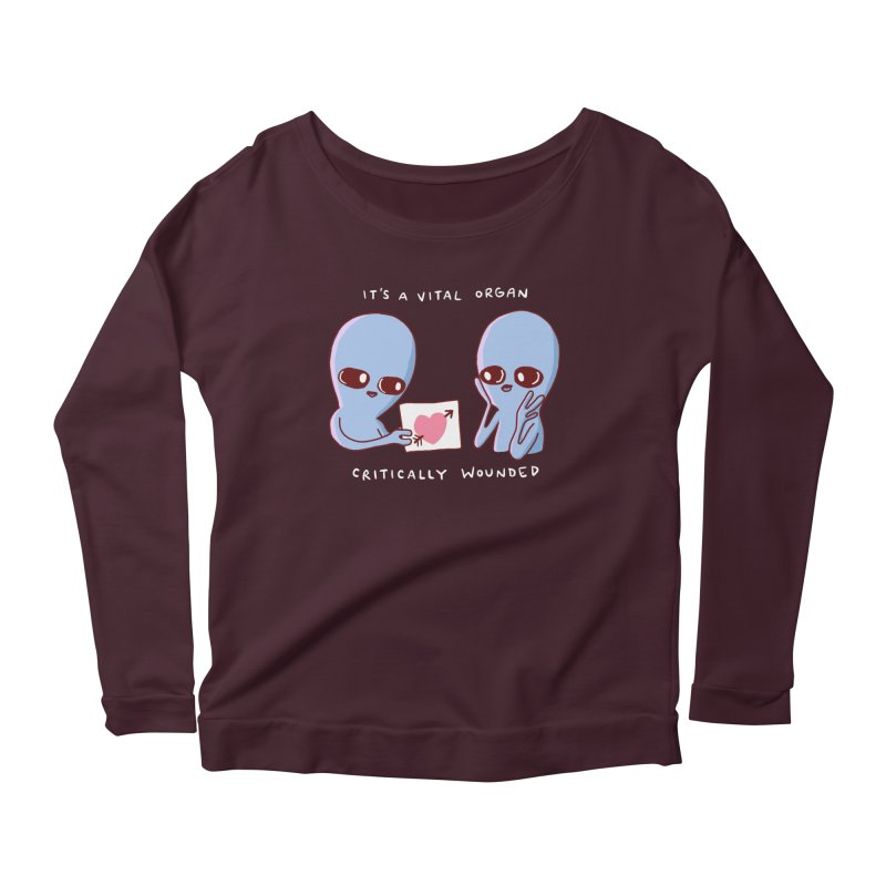 STRANGE PLANET SPECIAL PRODUCT: VITAL ORGAN Women's Longsleeve T-Shirt by Nathan W Pyle