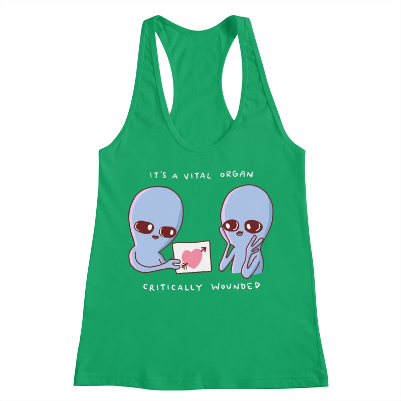 STRANGE PLANET SPECIAL PRODUCT: VITAL ORGAN Women's Tank by Nathan W Pyle