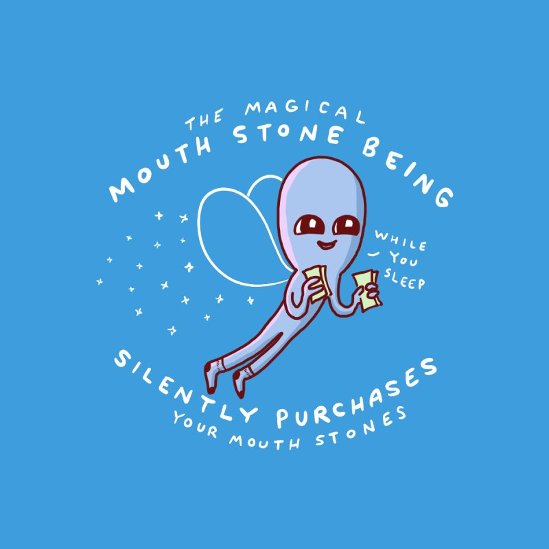 STRANGE PLANET SPECIAL PRODUCT: MAGICAL MOUTH STONE BEING Women's Longsleeve T-Shirt by Nathan W Pyle