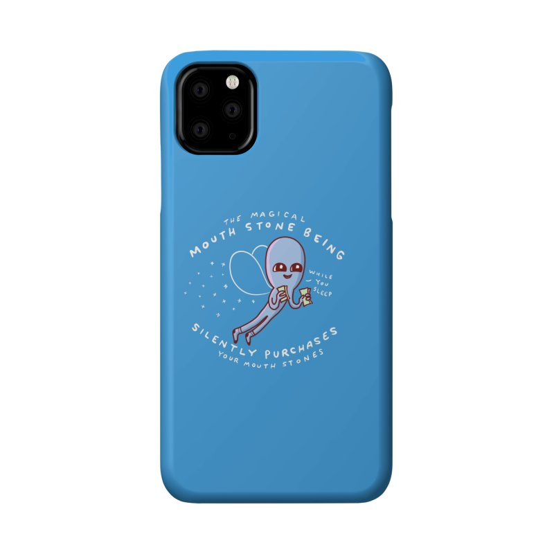 STRANGE PLANET SPECIAL PRODUCT: MAGICAL MOUTH STONE BEING Accessories Phone Case by Nathan W Pyle