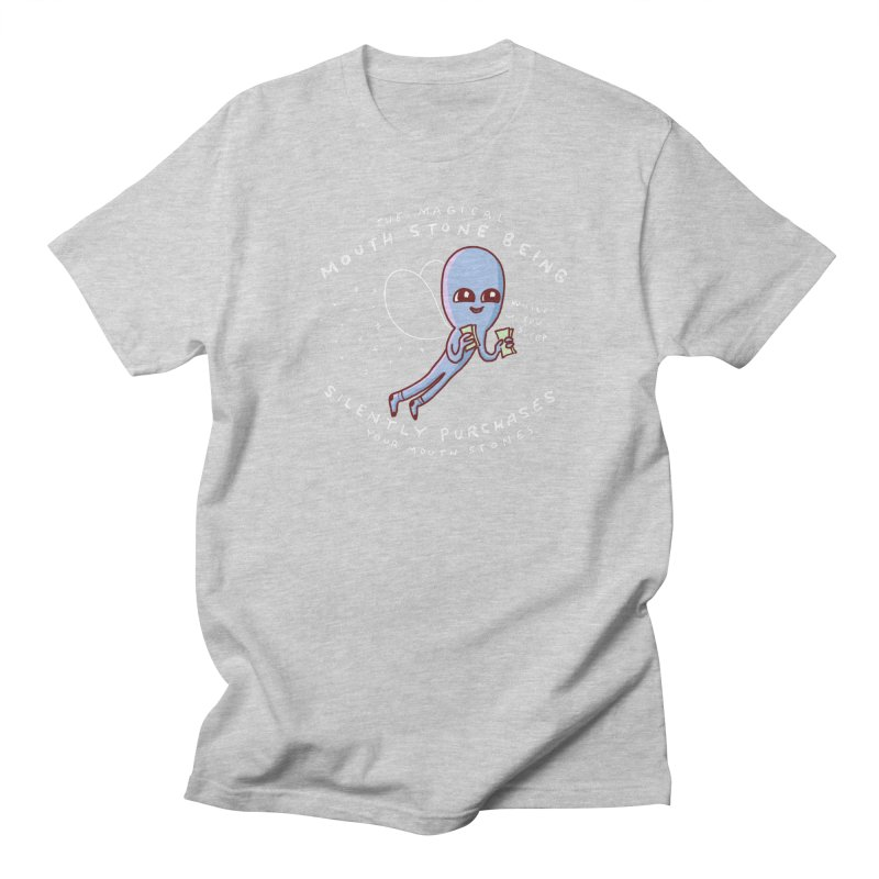 STRANGE PLANET SPECIAL PRODUCT: MAGICAL MOUTH STONE BEING Men's T-Shirt by Nathan W Pyle