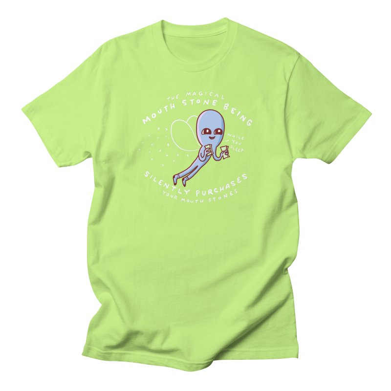 STRANGE PLANET SPECIAL PRODUCT: MAGICAL MOUTH STONE BEING Men's Regular T-Shirt by Nathan W Pyle