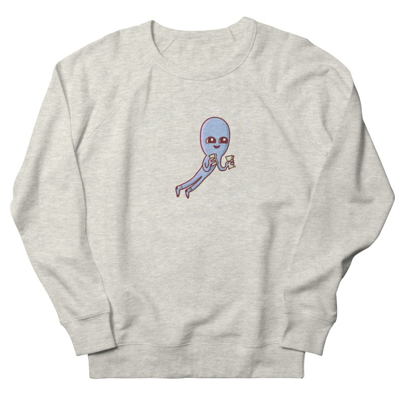 STRANGE PLANET SPECIAL PRODUCT: MAGICAL MOUTH STONE BEING Men's French Terry Sweatshirt by Nathan W Pyle