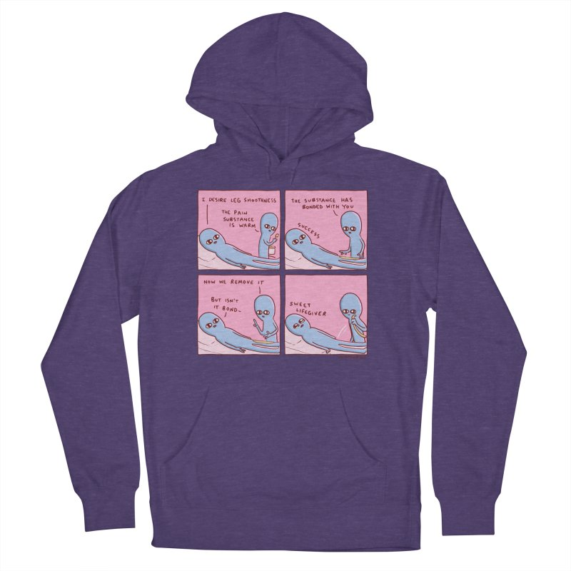 STRANGE PLANET: SWEET LIFEGIVER Men's French Terry Pullover Hoody by Nathan W Pyle