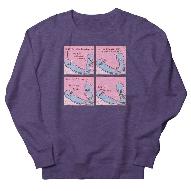 STRANGE PLANET: SWEET LIFEGIVER Women's French Terry Sweatshirt by Nathan W Pyle