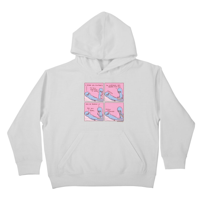 STRANGE PLANET: SWEET LIFEGIVER Kids Pullover Hoody by Nathan W Pyle