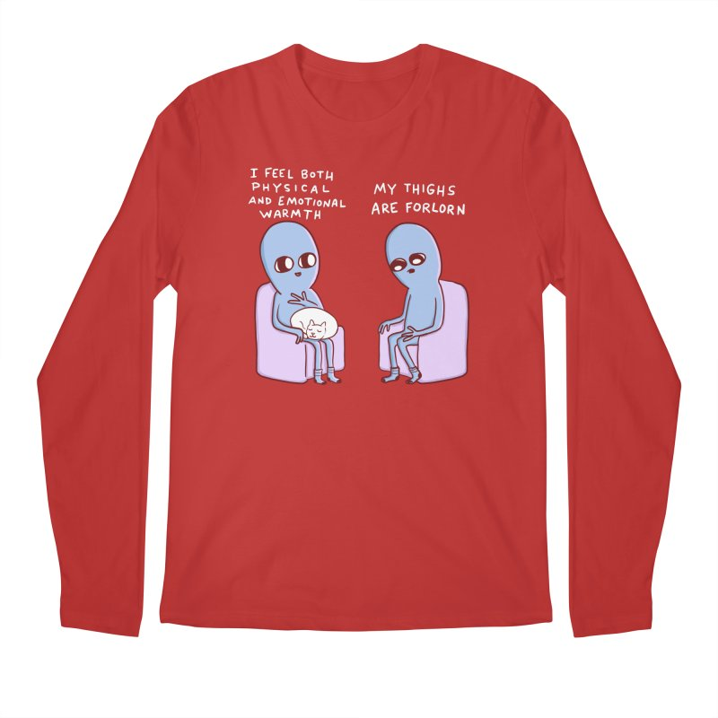 STRANGE PLANET SPECIAL PRODUCT: MY THIGHS ARE FORLORN Men's Regular Longsleeve T-Shirt by Nathan W Pyle