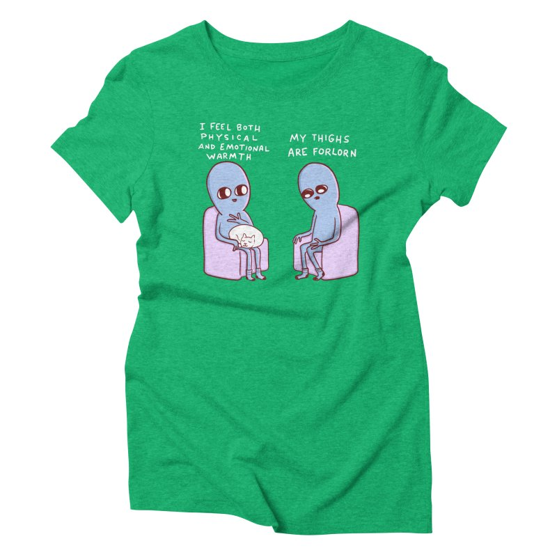 STRANGE PLANET SPECIAL PRODUCT: MY THIGHS ARE FORLORN Women's T-Shirt by Nathan W Pyle